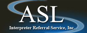 ASL Interpreter Referral Service